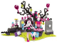 Дракулаура Мегаблокс- Mega Bloks Monster High Draculaura's Birthday Party Set