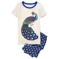Пижамка Peacock 2-Piece Shortie Pajama Set