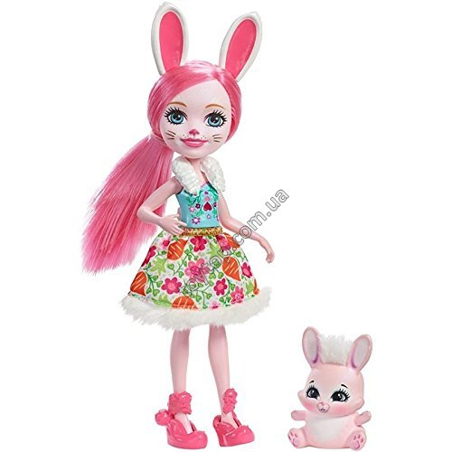 Энчантималс: Кролик Бри и Твист.- Enchantimals Bree Bunny Doll