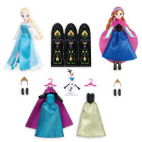 Игровой набор Фрозен: Анна, Эльза и Олаф- Anna and Elsa Mini Doll Wardrobe Play Set - Frozen - 5 1/2''