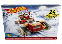 Набор автомобилей Hot Wheels Advent Calendar 2017