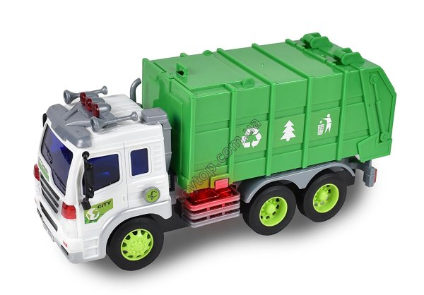 Машина-мусоровоз  -  Maxx Action Recycle Waste Removal Toy Truck