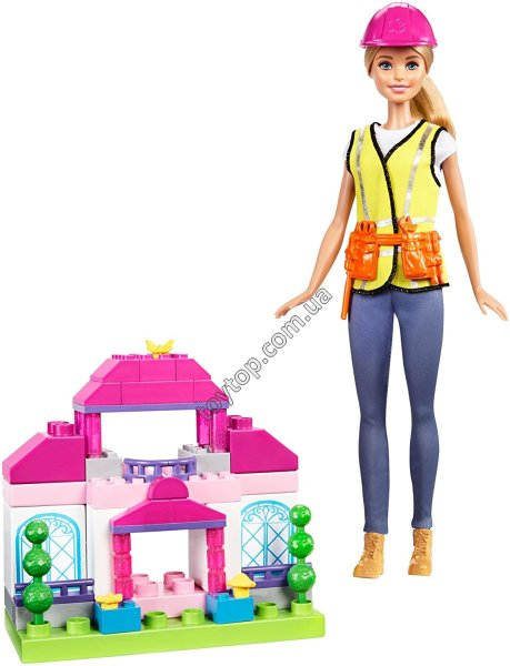 Барби строитель - Barbie Builder Doll & Playset, Blonde