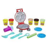 Пластилин (масса) для творчества Плей До - Барбекю - Play-Doh Burger Barbecue Toy