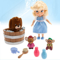 Золушка и ее друзья - Disney Animators' Collection Cinderella Mini Doll Play Set