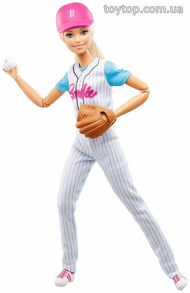 Барби Бейсболист - Barbie Made to Move Baseball Player Doll