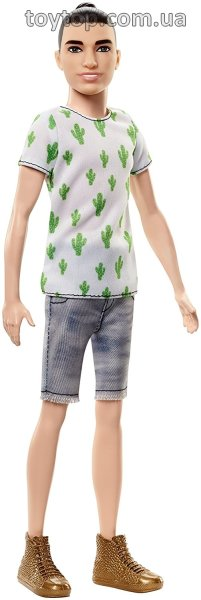 Кен - модник - Mattel Ken Fashionistas Doll 16 Cactus Cooler Playing