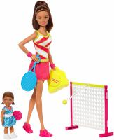 Барби тренер по теннису -  Barbie Careers Tennis Coach Playset