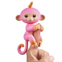 Интерактивная обезьянка Саммер - Fingerlings 2Tone Monkey - Summer (Pink with Orange Accents) - Interactive Baby Pet
