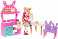 Энчантималс:кухня кролика Бри -Enchantimals Kitchen Fun Playset, Bree Bunny Doll & Twist Figure
