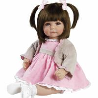 "Кукла-толдер ""Сладкие Щечки"" -  Adora Toddler Sweet Cheeks 20"" Girl Weighted Doll Gift Set"