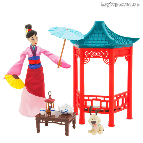 Мулан чайная церемония  - Mulan Tea Ceremony Playset