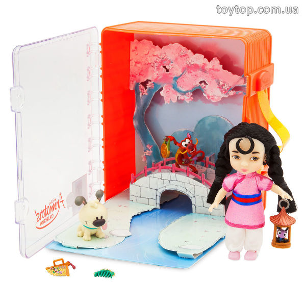 Мулан домик с аксессуарами - Disney Animators' Collection Mulan Mini Doll Playset