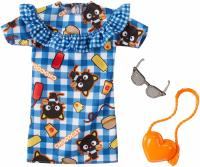 Одежда для Барби -  Barbie Hello Kitty Chococat Blue Plaid Dress Fashion Pack