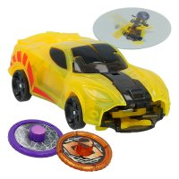 Дикие Скричеры – SparkBug - Screechers Wild  - Level 1  Flipping Morphing Toy Car Vehicle