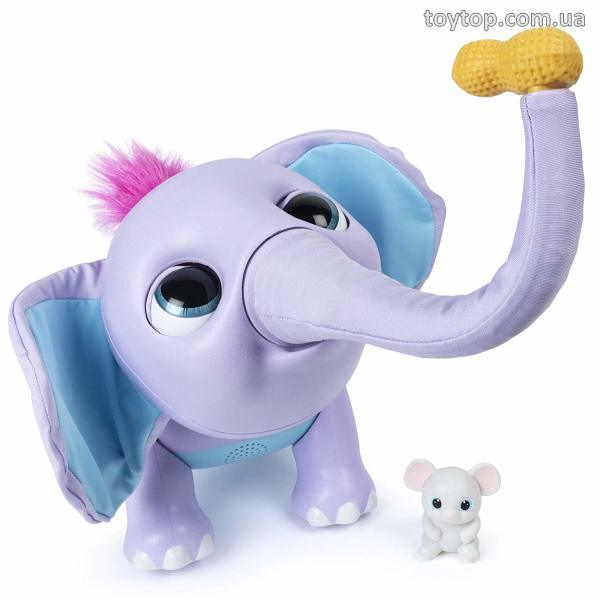 Интерактивный слоненок Джуно - Juno My Baby Elephant with Interactive Moving Trunk & Over 150 Sounds & Movements уценка
