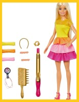 Барби Белокурые Локоны - Barbie Ultimate Curls Blonde Doll and Hairstyling Playset