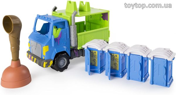 Игровой набор Potty Wagon - Flush Force, Series 2 Potty Wagon