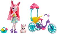 Энчантималс: кролик Бри на велосипеде - Enchantimals Pedal Pals Bree Bunny Doll & Bicycle