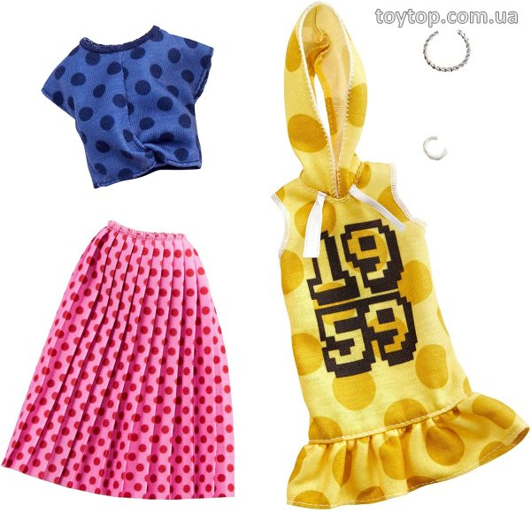 Одежда для Барби - Barbie Clothes: 2 Outfits Doll Feature