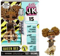 Кукла лол L.O.L. Surprise! JK Queen Bee Mini Fashion Doll with 15 Surprises