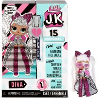 Кукла лол L.O.L. Surprise! JK Diva Mini Fashion Doll with 15 Surprises