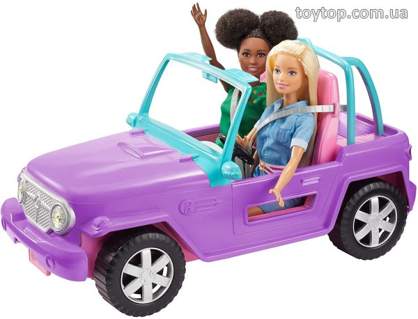Джип Barbie Off-Road Vehicle with Rolling Wheels