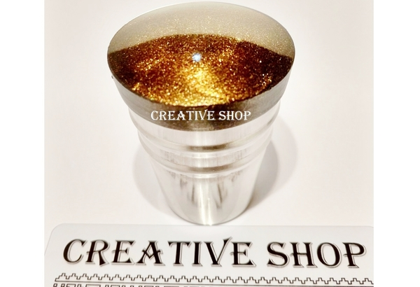 Stamper Creative shop+scraper (black gold)