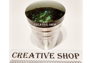 Stamper Creative shop+scraper (black green)