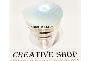 Stamper Creative shop+scraper (white blue)