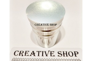 Stamper Creative shop+scraper (white gold)