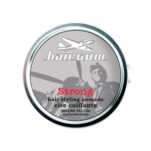 Hairgum Strong Hair Styling Pomade - Помада для стайлинга с ароматом меда, 40 гр
