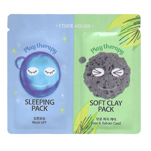 ETUDE HOUSE Play Therapy Sleeping Pack + Soft Clay Pack