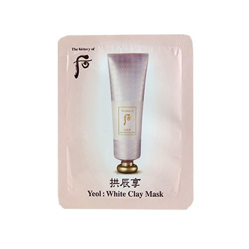 The history of whoo White Clay Mask