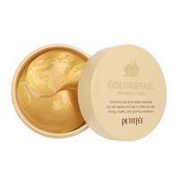 [PETITFEE] Gold & Snail Eye Patch  (60pcs)