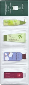 Innisfree Pocket Travel Pouch 4 Items