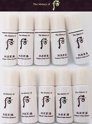 The History of Whoo Radiant White Emulsion 6 ml