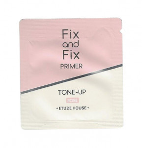 ETUDE HOUSE Fix And Fix Tone Up Primer SPF33 PA++  #01 Rose