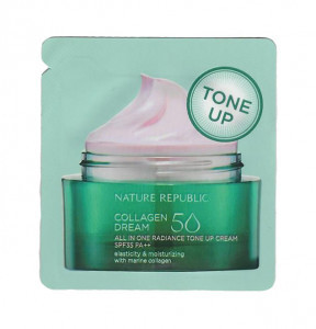 Nature Republic Collagen Dream 50 All In One Radiance Tone Up Cream SPF35 PA++