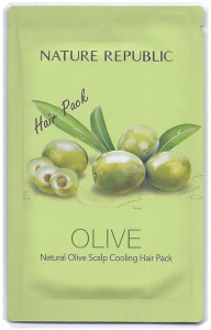 Nature Republic Olive Scalp Cooling Hair Pack