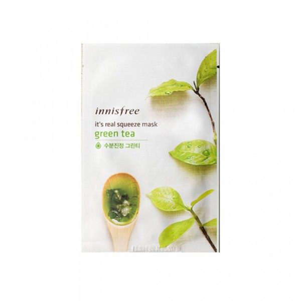Innisfree It's Real Squeeze Green Tea Mask