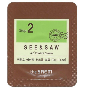 THE SAEM See & Saw A.C Control Cream