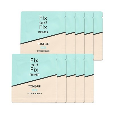 ETUDE HOUSE Fix And Fix Tone Up Primer SPF33 PA++ #02 Mint