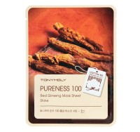 Tony Moly Pureness 100 Red Ginseng Mask Sheet (Красный женьшень)