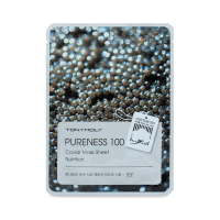 Tony Moly Pureness 100 Caviar Mask Sheet Nutrition (Черная икра)