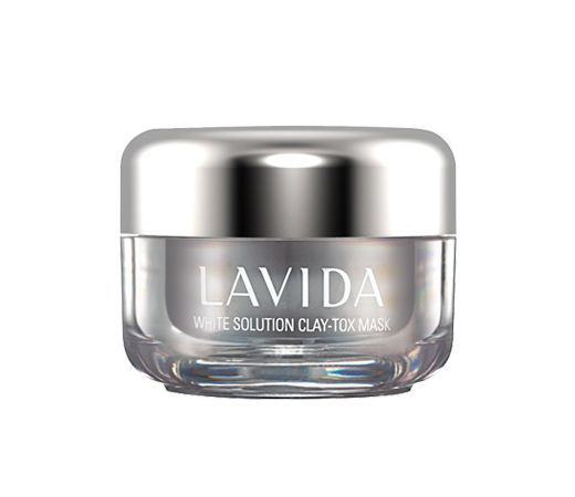 LAVIDA White Solution Clay-Tox Mask