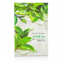Nature Republic Real Nature Mask Sheet Green Tea