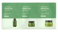 Innisfree Green Tea Night Care Kit (2ml+2ml+2ml)