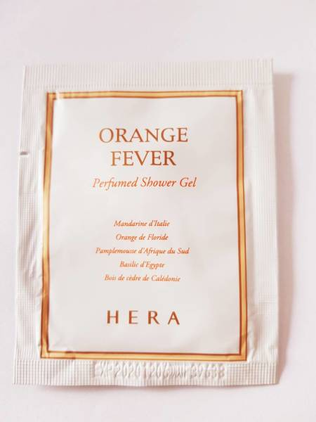 Hera Orange Fever Perfumed Shower Gel