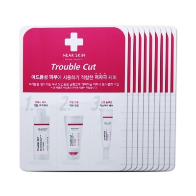 Missha Trouble Cut Spot Solution + Calming Cream + Fresh Toner